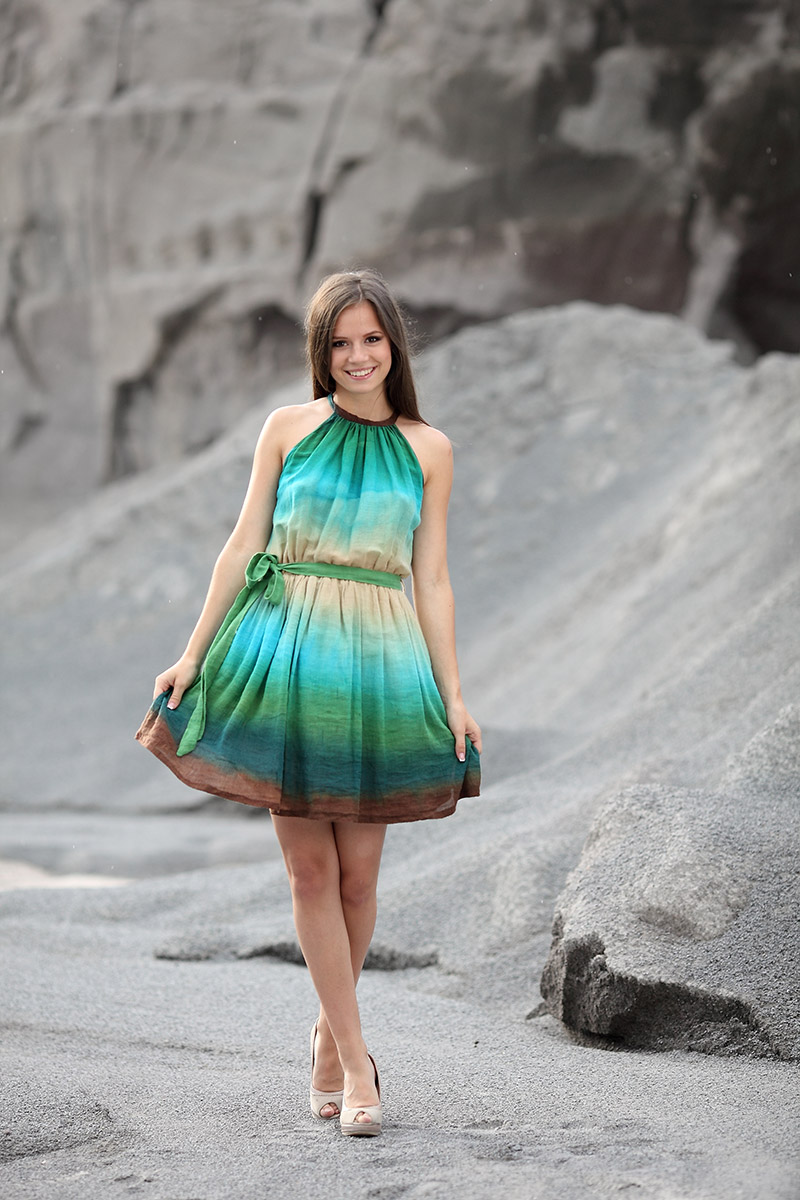 Model: Orsolya Kanyaró | Photo: Sarolta Molnár
