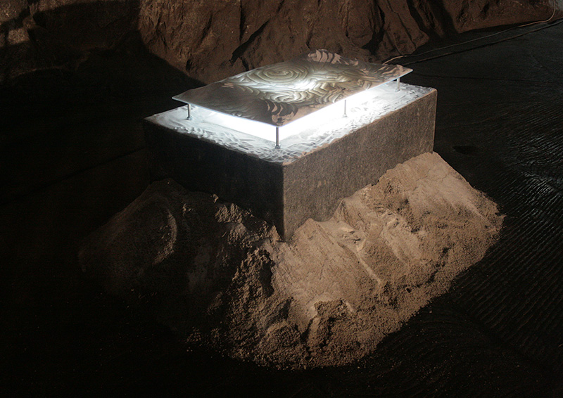 Salt altar | installation | 2007